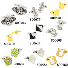 Different Style Cufflinks to Sell, Multiful-color for Mens French Shirt Clothing Accessories