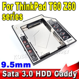 Wholesale External SATA to IDE Case mm SSD HDD nd Caddy quot Second Hard Disk Driver Enclosure for Thinkpad Macbook Pro Air