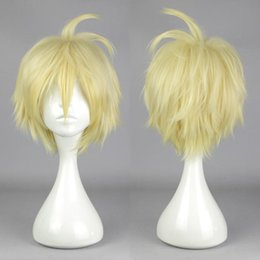 MCOSER Seraph of the End Mikaela Hyakuya Wig Cosplay Anime wig Costume Cos Prop