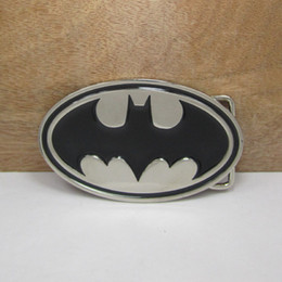 Wholesale BuckleHome batman belt buckle with silver finish FP with continous stock
