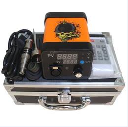 Menovo Electronic Dab Nail Vaporizer Dab E Nail Heater Box Temperature Control Box With Gr2 Titanium Nail For Dry Herb Vape Kit