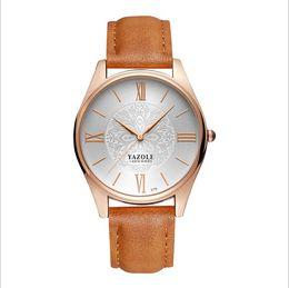 YAZOLE 2017 new fashion and leisure business men watch quartz watch
