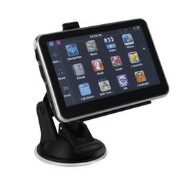 5 inch Car GPS Navigation Bluetooth AV in Navigator 128M 256MB 4GB 8GB System HD Universal Latest Maps FM Transmitter