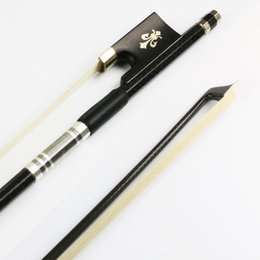 Wholesale NEW Advanced Braided Carbon Fiber Violin Bow The performance of pernambuco RBV200