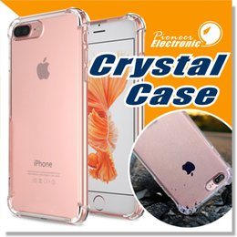 Wholesale EP iPhone s Case Crystal Clear Shock Absorption Technology Bumper Soft Flexible TPU Cover Ultra Hybrid Cases for iPhone Plus