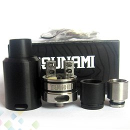 Vaporizer Tsunami RDA By GeekVape Clone Improved Velocity-style deck 22mm Rebuildable Dripping Atomizer fit 510 Mod DHL Free