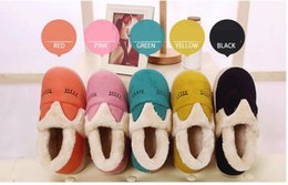 couple SHOES home slippers WINTER COTTON high quality
