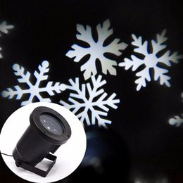 Wholesale Led Street Projector Lights - Outdoor Automatically LED Moving Snowflakes Spotlight Lamp, Wall and Tree Christmas Holiday Garden Landscape Decoration Projector Light