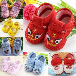 2018High quality baby moccasins New non-slip soft cotton shoes 0-1 years old toddler shoes baby shoes Multicolor choose cartoon toddler shoe