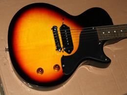 El envío libre superventas más nuevo de la alta calidad de la guitarra eléctrica del resplandor solar más nuevo júnior desde guitarra corte envío libre proveedores