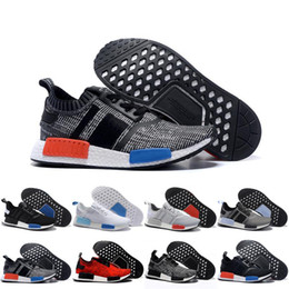 With Box 2017 Wholesale Discount Cheap New NMD Runner PK Primeknit Men's & Women's Hot Sale Sports Basketball Shoes Fast Top Quality