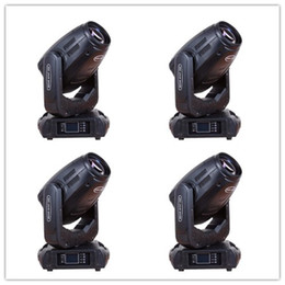 Wholesale 4pcs Wedding equipment w R sharpy beam moving head light w beam spot wash in home party disco lighting