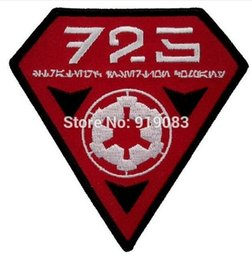 "Compañías de cine online-3.5 ""Star wars 501st Legion 725th Estratégico Insertion Company Patch película de hierro bordado en insignia de Halloween Cosplay traje"