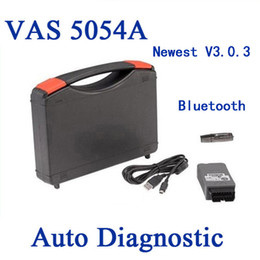 Wholesale Newest VAS A ODIS Bluetooth Support UDS Protocol VAS5054A OKI Full Chip Diagnostic Tool For VW Group DHL
