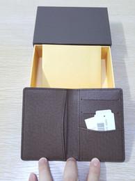 Bolsillo nuevo organizador de bolsillo famoso de la tarjeta de crédito del diseñador de la alta calidad monedero clásico dobló las notas y los recibos empaquetan el monedero de la carpeta desde bolsas de bolsillos fabricantes