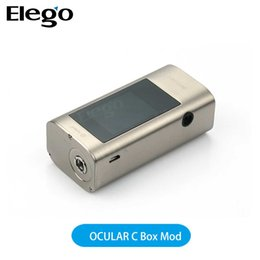 Wholesale Joyetech OCULAR C Box Mod W with Touch Screen and Music Function work by battery suits SMOK TFV8 Big Baby Atomizer