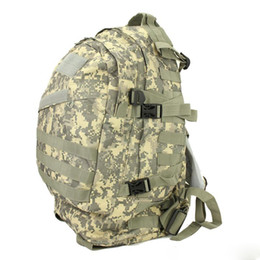New arrival Unisex Sports Outdoors Molle 3d Military Tactical Backpack Rucksack Bag Camping Traveling Hiking Trekking 40L Free DHL Fedex