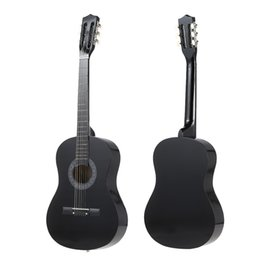 Wholesale quot String Folk Acoustic Guitar with Strap Bag Pitch Pipe Tuner Picks Pin Puller Lock Pins Peg for Beginners Music Lovers