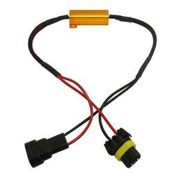 Descuento las luces de carga FEELDO Car HB4 / 9006 Resistencia de carga de faros Lámparas de niebla Decodificador LED Resistencia de conexión Línea LED Luces de niebla Resistencia # 5336