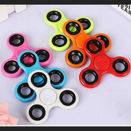Wholesale 2017 Hot Fidget Spinner toy Good Choice For decompression anxiety Finger Toys fidget cube For Gift Toy