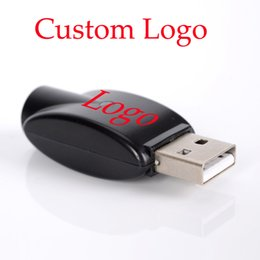 Wholesale OEM Wireless eGo USB Charger black usb charge adapter for ego thread battery Electronic Cigarette battery