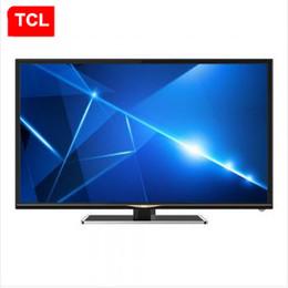 2016 tv lcd 55 TCL D32E161 32 pouces de haute définition réseau LED LCD TV Produit populaire! Perle lumière noir parfait A + écran 1366 * 768 tv lcd 55 sortie