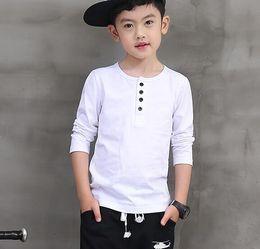 Wholesale Pioneer Kids Hot Selling Fashion Autumn Boys Shirts Long sleeve Clothings Tops Tees Cotton bobo Choses T Shirt