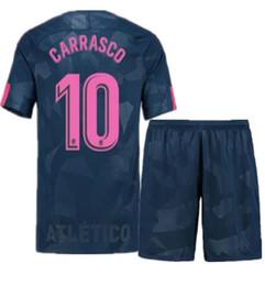 Madrid Atletico 17 18 temporada casa y lejos jerseys KOKE GODIN F.TORRES SAUL CARRASCO CORREA GRIEZMANN GABI THOMAS DIEGO COSTA Soccer suit