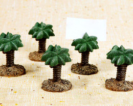 "Fast delivery! Wedding Favor ""Hawaii amorous feelings"" Palm Tree Place Card Holders Wholesale"