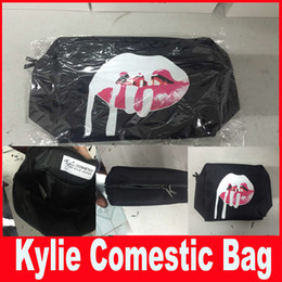 Wholesale Kylie bags Cosmetics Birthday Bundle Bronze Kyliner Copper Creme Shadow Makeup Storage Bag in stock DHL free Ship