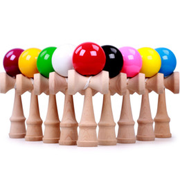 2017 NEW free shipping 185*70*60cm beech wood more color kendama good iridescence chromosphere and kendama pill