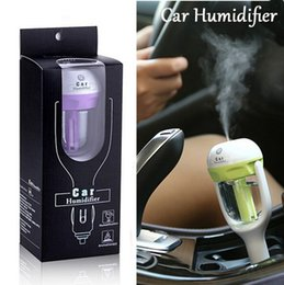 Wholesale 2017 Car Humidifier Steam Air Aroma Diffuser V W Colors Aromatherapy Aroma Air Purifier Essential Mist Maker Home Appliances
