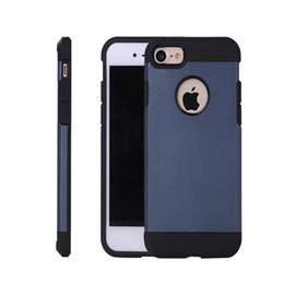 Protection téléphone cellulaire en Ligne-Housse de protection pour téléphone cellulaire PC pour Apple iphone 7 plus 6 6S iphone7 Plus