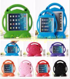 Pour iPad 2 3 4 pour ipad mini1 23 ipad air1 / 2 Kids Case Mignon Thomas Cartoon Cartoon Anti-choc Safe EVA Mousse Poignée Stand Couverture de protection à partir de enfants ipad poignées de cas fournisseurs