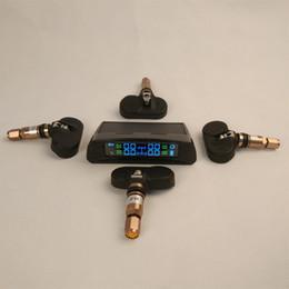 Wholesale Tyre Pressure Monitoring System Solar Lcd Tpms Internal Sensors Tpms Psi Bar Car Tpms Diagnostic Tools Solar