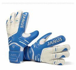 2017Kids Men 4mm Germany 40% latex 45% pvc goalkeeper gloves professional football thicken 5 finger save guard goalie soccer gloves