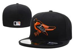 Los sombreros de los hombres en Línea-El nuevo campo de Altenate del logotipo delantero del bordado del casquillo de béisbol de Baltimore Orioles equipó al sombrero de las mujeres de los hombres Envío libre