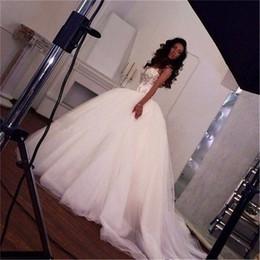 Wholesale Unique Wedding Dress Vestidos Para Casamento Spaghetti Straps Princess Corset Dress Ball Gown Wedding Dresses