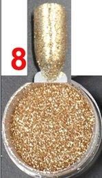 Vente en gros- 2.5g / pot, gulch-gold Couleur, Nails Glitters Poudre de poudre acrylique pour Nail Art Conseils pour les ongles Accessories.BNG02005 à partir de ongles glitter pots fabricateur