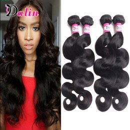 Brazilian Virgin Hair Body Wave 4 Bundles 100% Unprocessed Brazilian Body Wave Virgin Hair 7A Peruvian Malaysian Wavy Human Hair Weaves