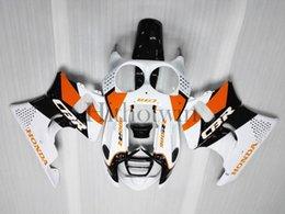 Juego de carrocería de plástico ABS para Honda CBR900RR 1991-1993 CBR 900RR 91 92 93 naranja blanco negro Carenado desde 91 carenados honda cbr proveedores