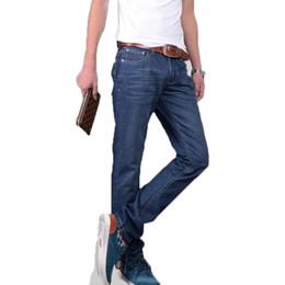 Descuento inventario libre Los pantalones vaqueros de los hombres libres del envío al por mayor que la ropa del verano recta inventan los pantalones de los hombres finos de la marca de fábrica de la sección clasifica 28-38,39