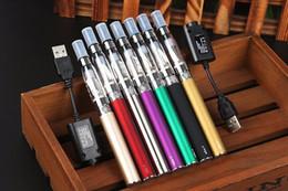 Wholesale Ego t Ce4 Blister solo kits e cig mah mah mah Ego batería USB cargador Ce4 atomizador baratos EVOD MT3 E cigarrillo Vaporizador