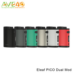 Wholesale Original W Eleaf Pico Dual TC Box Mod Capable of Converting Quick Charge with Avatar Quick Charger VS Pico Mod