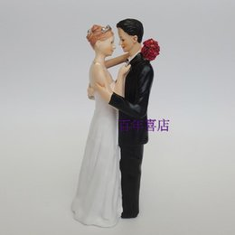 European wedding cake decoration, bride and groom wedding doll, wedding cake doll