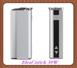 ¡Precio barato! Eleaf istick 30W caja mod 2200mah batería VS eleaf istick 10W istick 20W istick50W DHL libre desde mod baterías baratas fabricantes