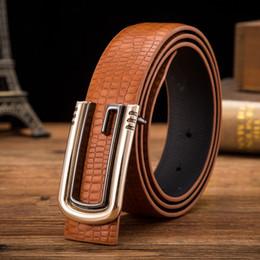 Femmes boucles de ceinture gros en Ligne-Accessoires de luxe Party Business ceinture de boucle lisse pour hommes et femmes étudiant G ceinture bonne qualité de gros Livraison gratuite Nouvelle arrivée