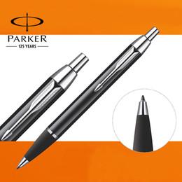 U Pick ! Parker IM Ballpoint Pen Silver   Golden Clip Business Parker Ball point Pen Writing Office School