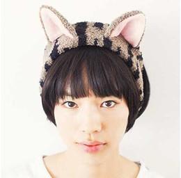 Acheter en ligne Cheveux amicale-Vente en gros - Kawaii Boucles d'oreilles pour chat en cristal à base de velours en corail.Coupe de douche en bain bouclé.Les maquillages pour le visage Maquillage pour cheveux.Les accessoires pour cheveux en plastique