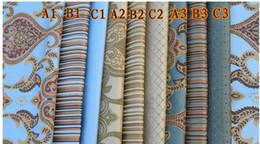 2017 les types d'incendie Hot Selling Tissu jacquard haut de gamme ignifuge de type européen de type restauration d'anciennes façons de décorer la chaise en tissu rideau les types d'incendie promotion